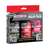 PREMIUM BIKE CARE VALUE PACK - 3x120ml DRY/MULTI/BW - x6