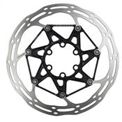 ROTOR CENTERLINE 2P 160MM BLACK TI ROUNDED